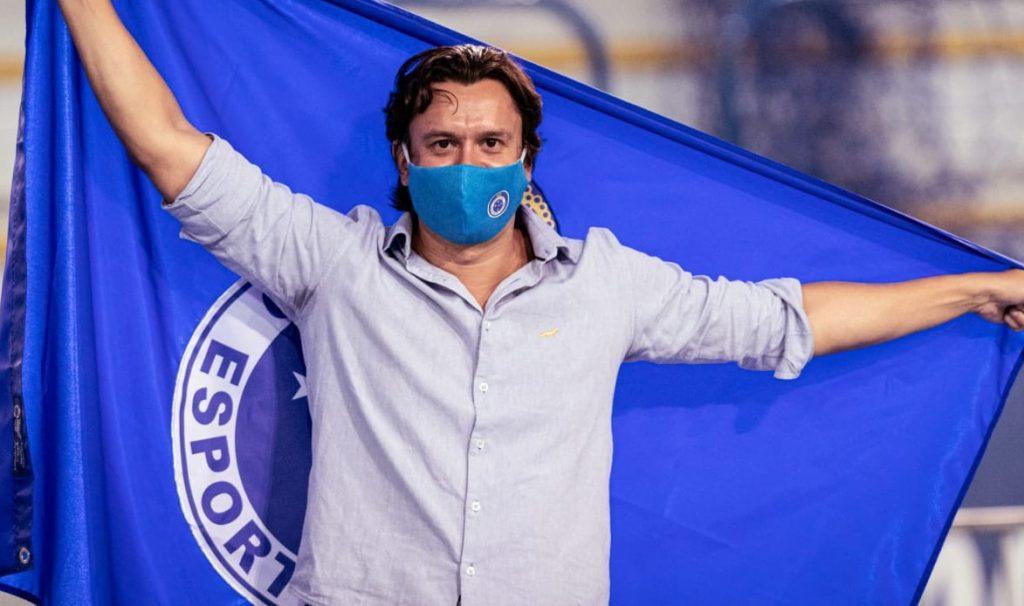 Sergio Rodrigues Novo presidente do Cruzeiro