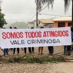 Moradores voltam a protestar contra a Vale