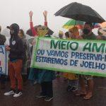 Moradores de Casa Branca protestam contra reativação de mineração