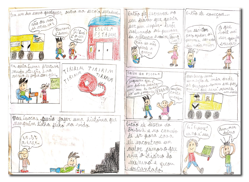 O menino e o diário secreto - Caio Eduardo