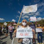 Moradores voltam a protestar contra mineração ilegal