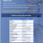 Começa a vacinação contra a gripe para idosos e professores